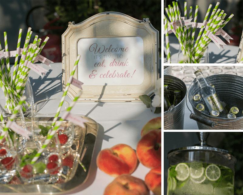 Summer wedding details