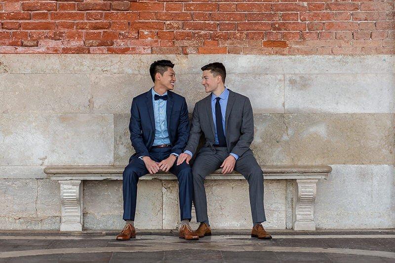 Same sex wedding in Venice