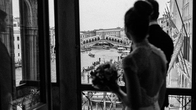 Venice wedding elopement
