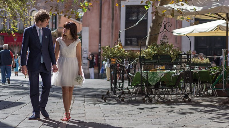 Wedding casual in Venice